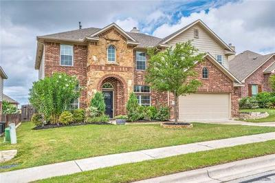 Round Rock TX Single Family Home For Sale: $314,995