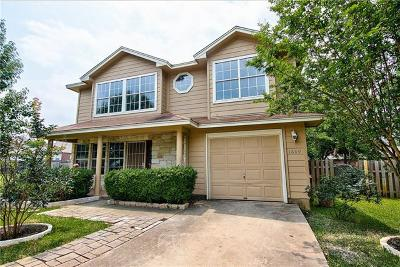 Travis County, Williamson County Single Family Home For Sale: 1609 Windy Park Ct