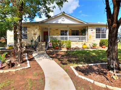 Lago Vista Single Family Home For Sale: 21412 Lakefront Dr
