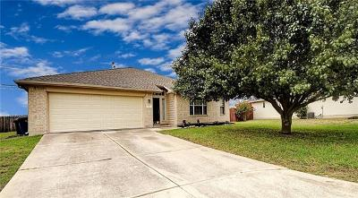 Hutto Single Family Home For Sale: 217 Warner Bnd