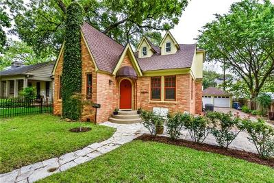 Travis County Single Family Home For Sale: 1502 W 29th St