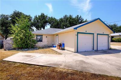 Georgetown Multi Family Home For Sale: 3704 Buffalo Springs Trl