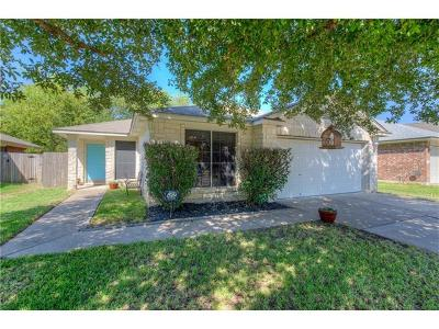 Round Rock Single Family Home For Sale: 17508 Limpia Crk