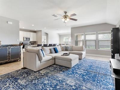 Round Rock Single Family Home For Sale: 3527 Esperanza Dr