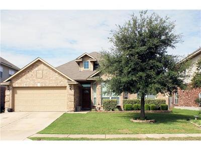Hutto Single Family Home For Sale: 1013 Emory Fields Cv