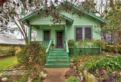 Travis County Single Family Home Pending - Taking Backups: 507 E Mary St