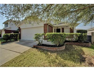 Pflugerville Single Family Home For Sale: 1203 Sleepytime Trl