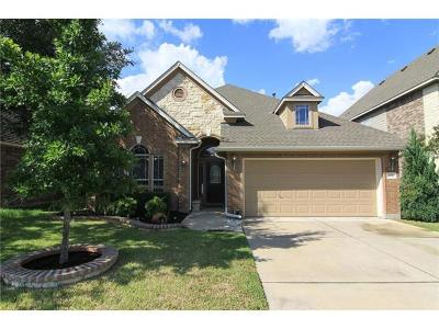 Cedar Park Single Family Home For Sale: 608 Williams Way
