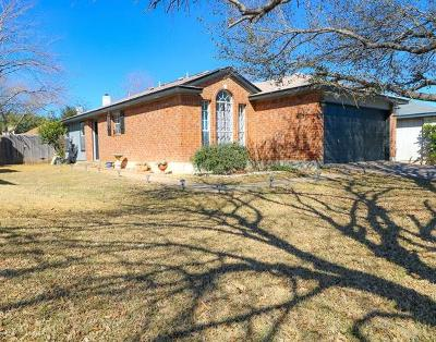 Round Rock Single Family Home Pending - Taking Backups: 2918 Settlement Dr