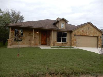 Bastrop TX Single Family Home For Sale: $264,000
