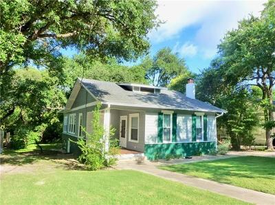 Austin Single Family Home For Sale: 1910 David St