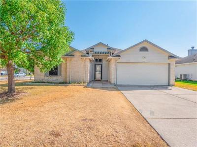 Leander Single Family Home For Sale: 806 Riverway Ln