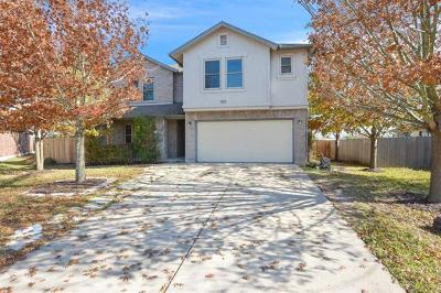 Pflugerville Single Family Home For Sale: 1100 Lincoln Sparrow