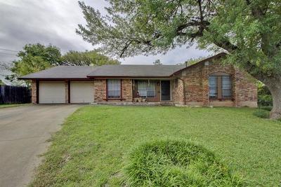Austin Single Family Home For Sale: 9613 Marston Ln