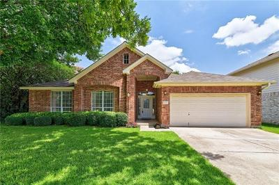 Round Rock Single Family Home For Sale: 7012 Rambollet Ter