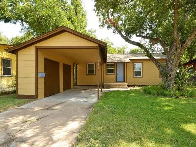 Hays County, Travis County, Williamson County Single Family Home For Sale: 1506 W Koenig Ln