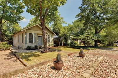 Bouldin Creek, Bouldin Single Family Home For Sale: 2102 Eva St