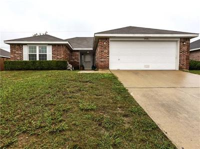Killeen TX Single Family Home For Sale: $118,900