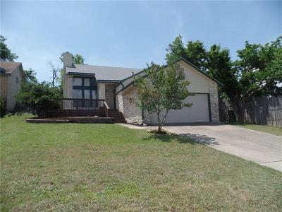 Round Rock Single Family Home For Sale: 805 Broken Bow Dr