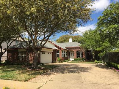 Cedar Park Single Family Home For Sale: 1201 Forest Oaks Path