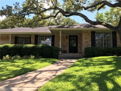 Austin Single Family Home Pending - Taking Backups: 3907 Edgerock Dr