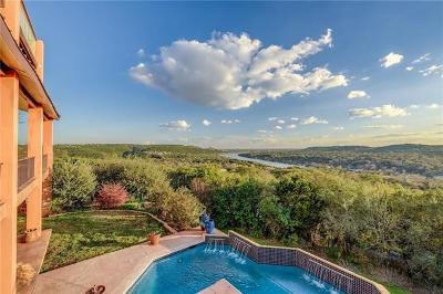 Austin Single Family Home For Sale: 4712 Lookout Mountain Cv