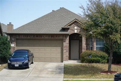 Manor Single Family Home For Sale: 13812 Fallsprings Way