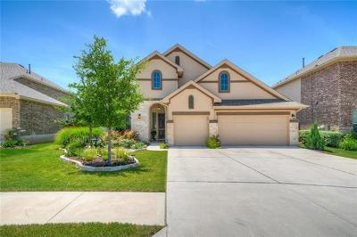 Leander Single Family Home For Sale: 2521 Hilltop Divide Ln