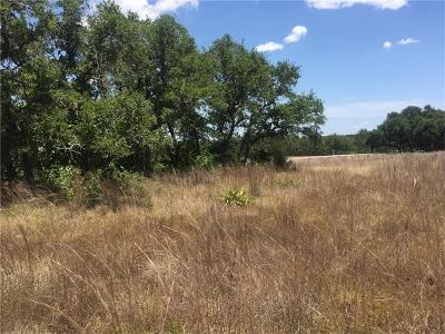 Liberty Hill Residential Lots & Land Pending - Taking Backups: 210 Spring Creek Dr