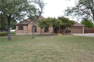 Liberty Hill Single Family Home Pending - Taking Backups: 202 Carriage Oaks Dr