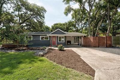 Austin Single Family Home For Sale: 1801 Temple Dr