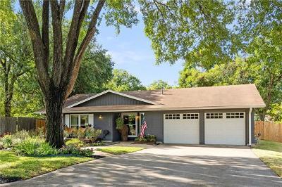 Austin Single Family Home Pending - Taking Backups: 1803 Palmwood Cv
