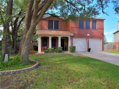 Cedar Park Single Family Home For Sale: 2317 McGregor Ln