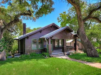 Single Family Home For Sale: 701 Baylor St