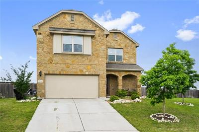 Pflugerville Single Family Home For Sale: 1804 Quiet Meadows Cv