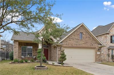 Round Rock Single Family Home For Sale: 2704 Salorn Way