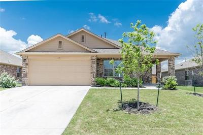 Leander Single Family Home For Sale: 613 Topaz Ln