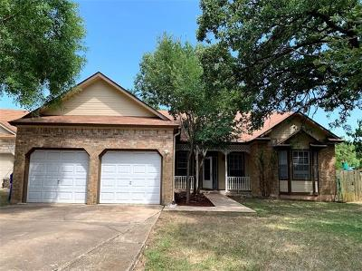 Travis County, Williamson County Single Family Home For Sale: 703 Sapling Cv