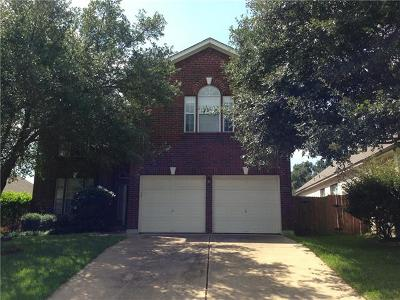Round Rock Rental For Rent: 7009 Cool Canyon Cv