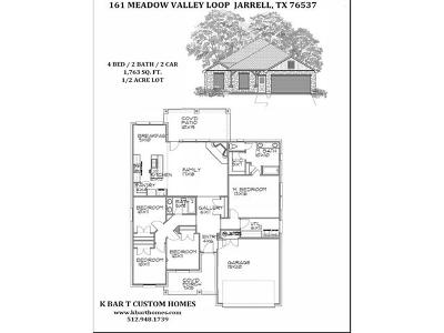 Single Family Home Active Contingent: 161 Meadow Valley Loop