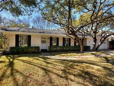 Austin Single Family Home Pending - Taking Backups: 4103 Paint Rock Dr