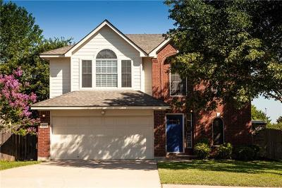 Round Rock Single Family Home For Sale: 2300 Friarcreek Loop