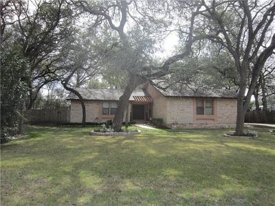 Cedar Park Single Family Home Pending - Taking Backups: 1406 Deer Run St