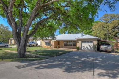 Burnet County Single Family Home For Sale: 1206 N Water St