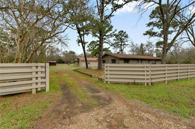 Bastrop TX Single Family Home For Sale: $325,000