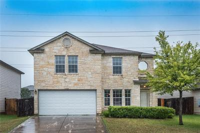 Round Rock Single Family Home For Sale: 1104 Keeshond Pl