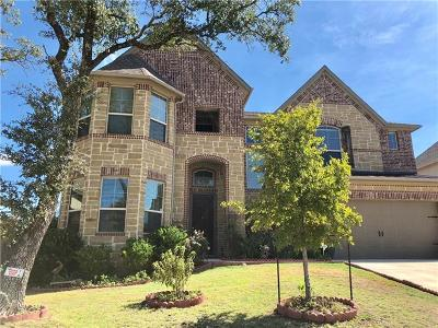 Leander Single Family Home For Sale: 2328 Blended Tree Ranch Dr