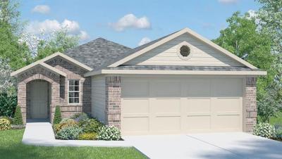 Manor Single Family Home For Sale: 14902 Breccia Rd