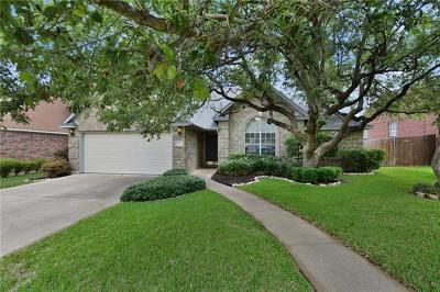 Cedar Park Single Family Home Pending - Taking Backups: 1708 Edelweiss Dr