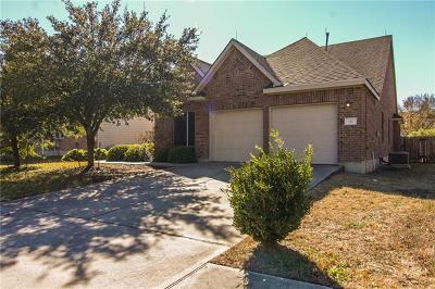 Round Rock Single Family Home For Sale: 112 Nick Price Loop